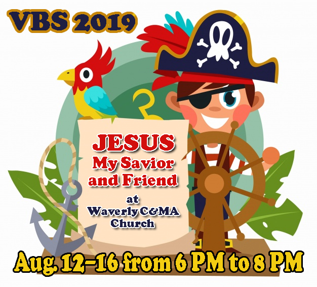 2019 VBS Program At Waverly C&MA
